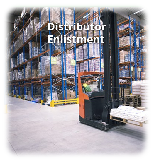 Open An Account – Page – Distributor Enlistment