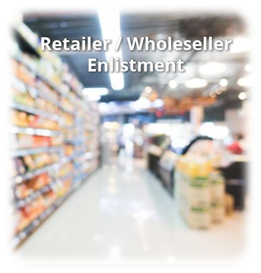 Open An Account – Page – Retailer Enlistment